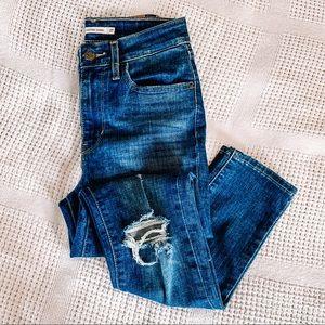 LEVI'S | NWOT 721 High Rise Skinny Jeans Sz 27
